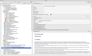 Beispielorganisation des IT-Grundschutz-Profil Leitstellen in verinice
