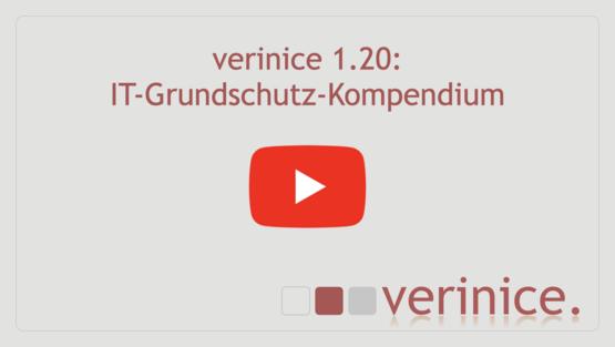 """YouTube-Video """"IT-Grundschutz-Kompendium"""" abspielen"""