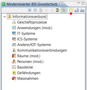 verinice 1.15: Zielobjekte im Modernisierten IT-Grundschutz