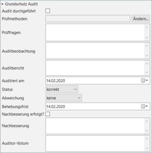 Figure 6. Audits in the modernized IT basic protection