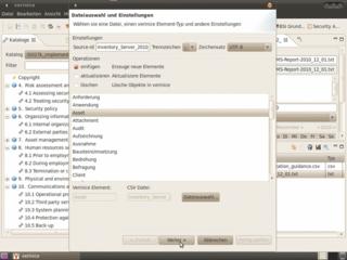 Import von CSV-Dateien