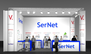 SerNet-Stand auf der it-sa 2015