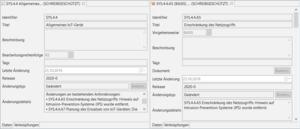 Figure 1. Änderungshinweise IT-Grundschutz-Kompendium