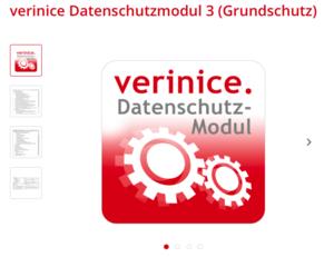 verinice Datenschutzmodul 3 für IT-Grundschutz