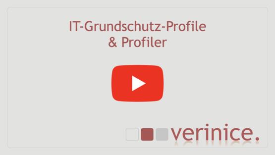 """YouTube-Video """"IT-Grundschutz-Profile & Profiler"""" abspielen"""