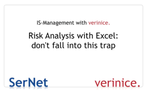 "Videoscreen ""Risk Analysis with Excel"""