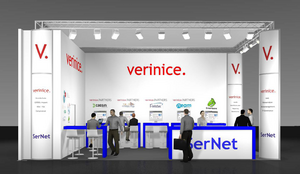 [Translate to English:] verinice-Stand auf der it-sa 2016